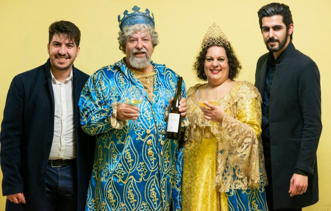 Humberto Zambujo e Ana Simões são os Reis do Carnaval de Sines
