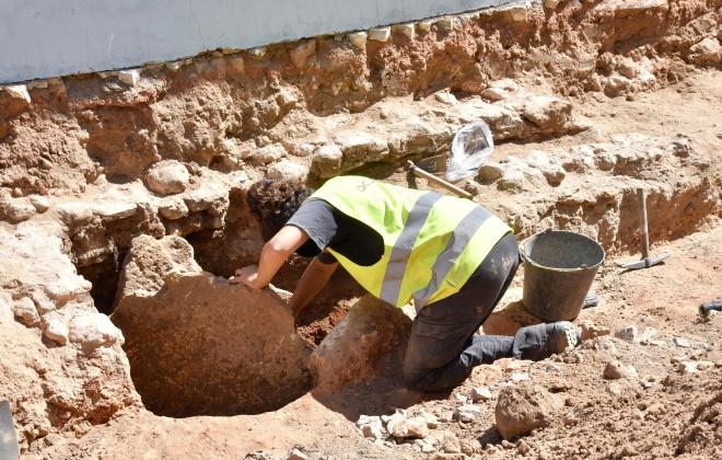 Foram descobertos vestígios arqueológicos nas obras que estão a decorrer em Alvalade