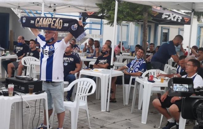 Portistas de Vila Nova de Santo André comemoraram a conquista da Taça de Portugal