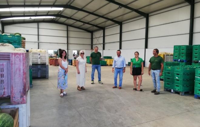 Empresa oferece melões e melancias às IPSS do concelho de Aljustrel e aos beneficiários da Loja Social