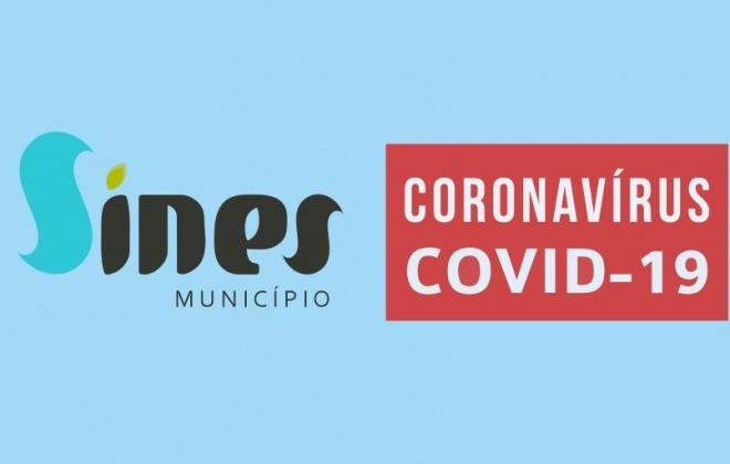 Município de Sines atualiza as medidas de contenção da Covid-19