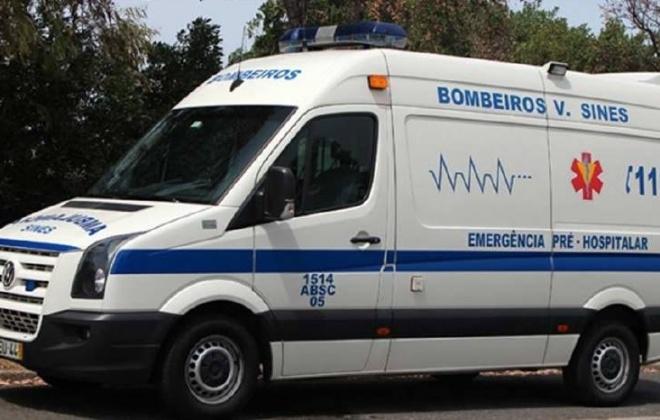 Colisão provoca dois feridos ligeiros em São Torpes