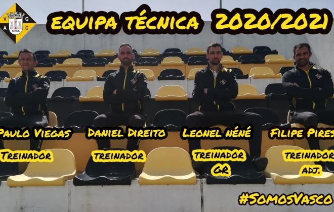 Equipa de futebol sénior do Vasco da Gama de Sines já iniciou os treinos