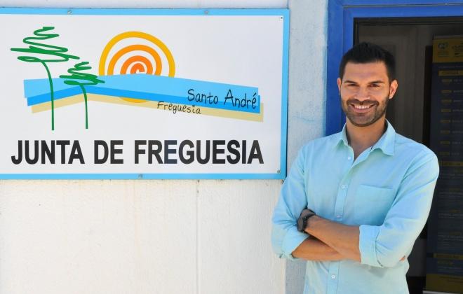 Autárquicas2021: David Gorgulho é o candidato da CDU á Junta de Freguesia de Santo André