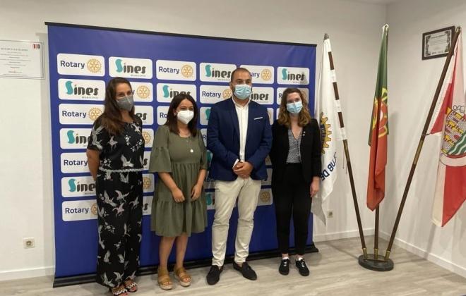 João Raposo é o novo presidente do Rotary Club de Sines