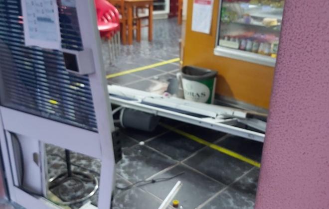 Máquina de tabaco foi roubada do Café Dom Pedro em Sines