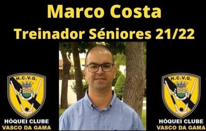 Marco Costa é o novo treinador do Hóquei Clube Vasco da Gama
