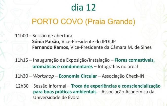 Porto Covo recebe comemorações do Dia Internacional da Juventude