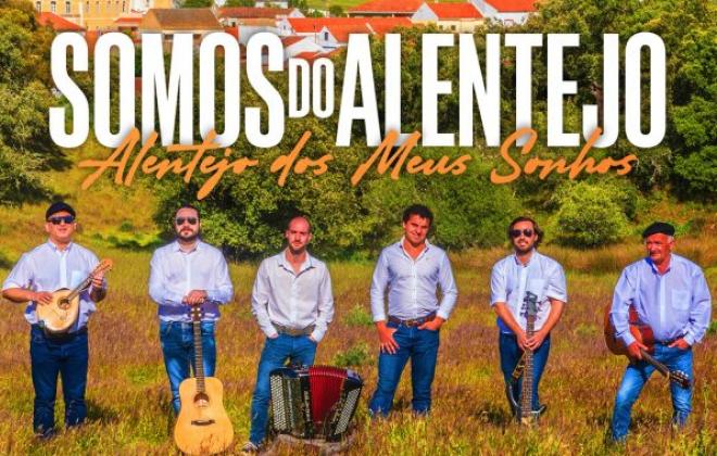 """Grupo musical """"Somos do Alentejo"""" da Abela apresentam disco de estreia"""