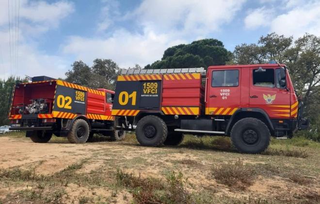 Bombeiros de Santiago do Cacém reforçam dispositivo de combate a incêndios