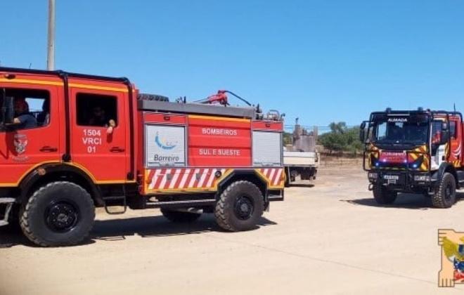 Autoridade Nacional de Emergência e Proteção Civil reforça pré-posiciona meios de combate a incêndios