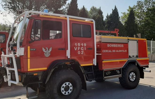 Incêndio urbano provoca três desalojados na Aldeia do Cano, em Cercal do Alentejo