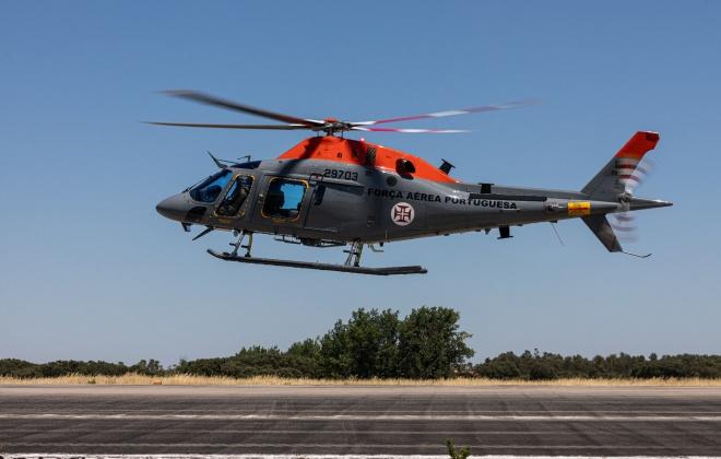 Nove aeronaves apoiam combate a incêndio em Castro Marim a partir da Base Aérea de Beja
