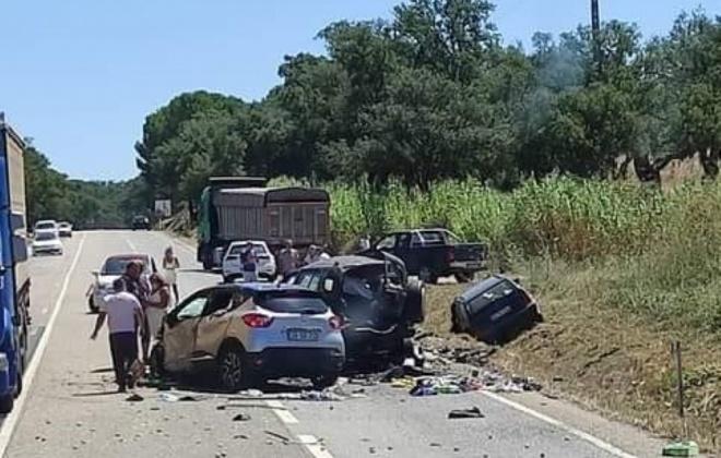 Colisão provoca 3 mortos e dois feridos em Palma, Alcácer do Sal