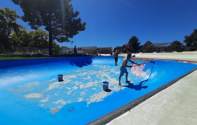 """Águas de Santo André apoia projeto """"Dar nova cor ao Skate Park"""""""
