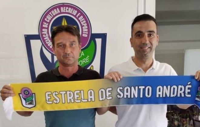 Estrela de Santo André – Ginásio de Corroios na 1.ª jornada da 2.ª Divisão da A.F. Setúbal