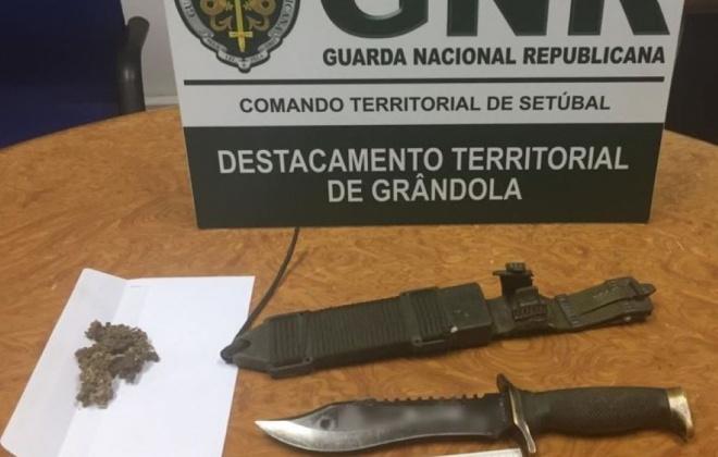 Homem detido em Grândola por posse de arma proibida