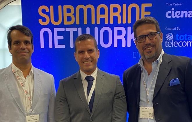 """ADRAL e a aicep Global Parques promovem o """"Sines Tech"""" no maior evento europeu dedicado a cabos submarinos de telecomunicações"""
