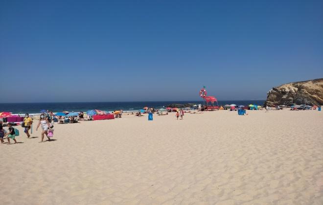 Praias de Sines sem nadadores salvadores devido a surto de Covid 19