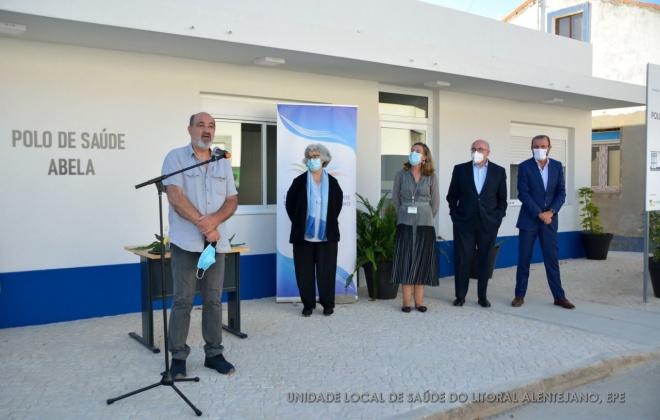 ULSLA inaugurou ontem o Polo de Saúde de Abela