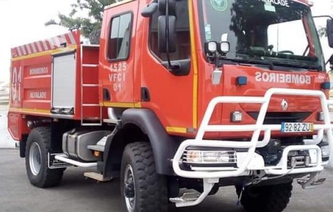 Incêndio consumiu área de pasto em Alvalade, Santiago do Cacém