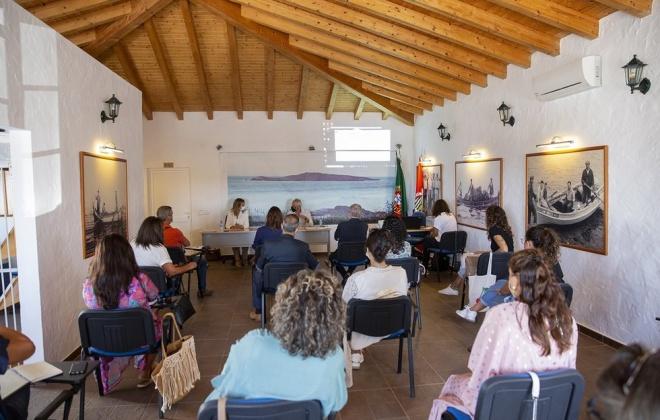 Parceiros sociais avaliaram projetos no concelho de Sines