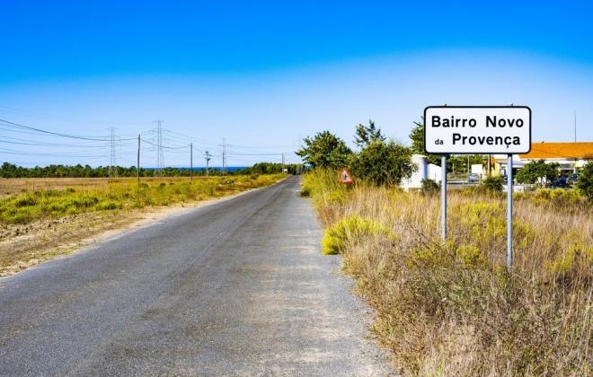 Câmara de Sines adjudicou a empreitada de repavimentação da Estrada da Provença