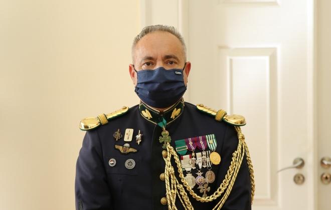 Jorge Goulão é o novo Comandante da Unidade de Emergência de Proteção e Socorro da GNR