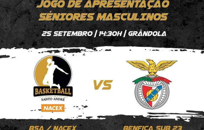 ABC de Santo André defronta o Benfica em Grândola