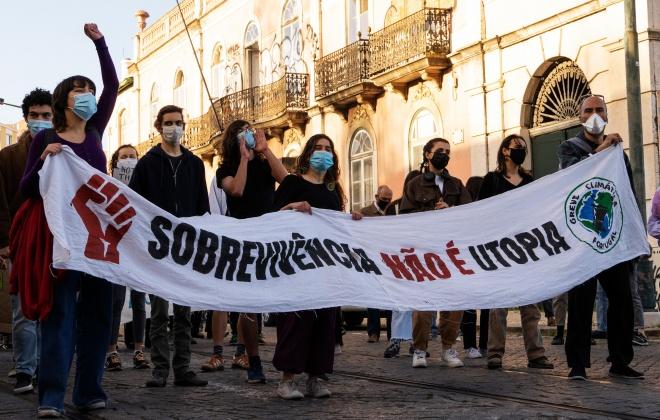 Greve Climática Estudantil convoca manifestação em Sines esta sexta-feira às 18 horas